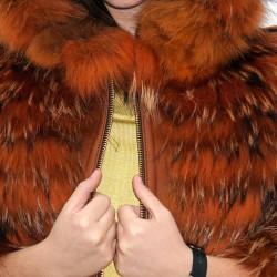 Pelliccia Finn-Racoon orange