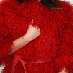 Pelliccia mongolia rossa